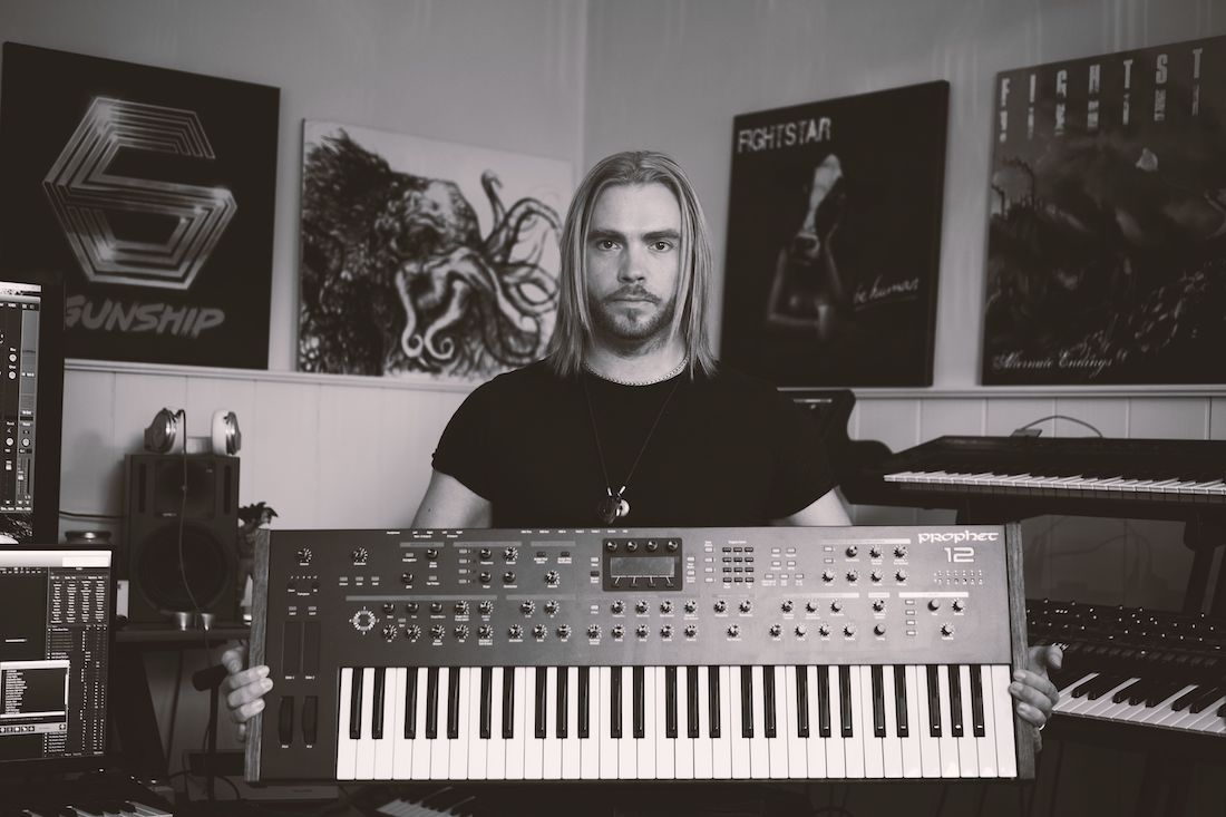 GUNSHIP's Dan Haigh Presents His Top 10 Synths vs. Top 10 Burgers